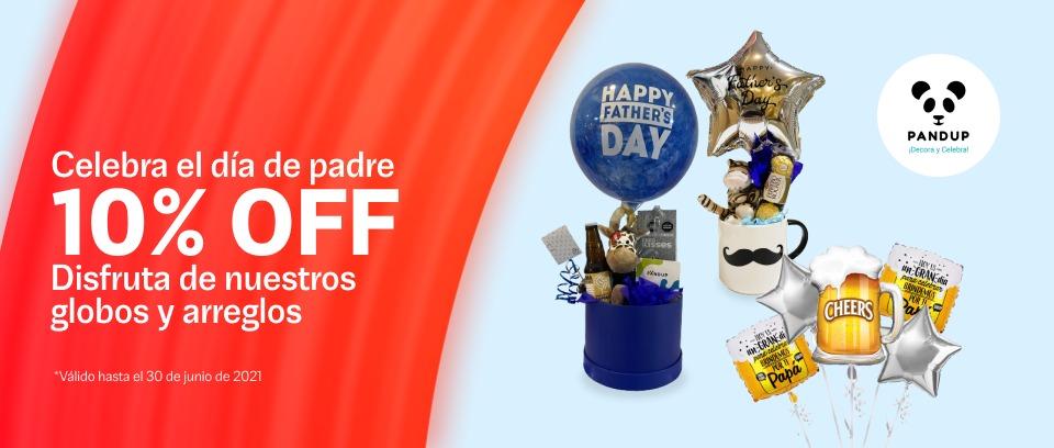 Descuentos Día del Padre - Pandup Balloons