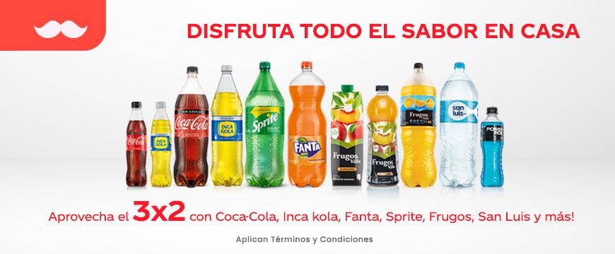 coca cola 3x2