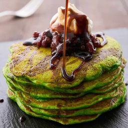 Matcha Green Pancake