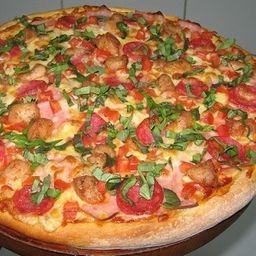 Pizza Choripollo Familiar