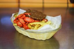 Salchipapa Burger