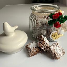 Pomo de Vidrio con Brownies