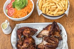 Pollo + Papas + Ensalada