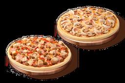 2 Pizzas Especiales o Premium