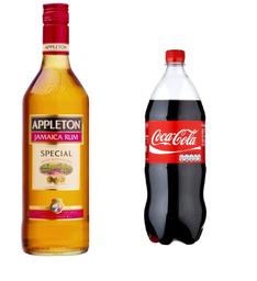Ron Appleton Special Rubio+ Coca Cola 1.5Lt