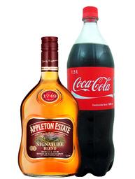 Ron Appleton Signature Blend + Coca cola 1.5