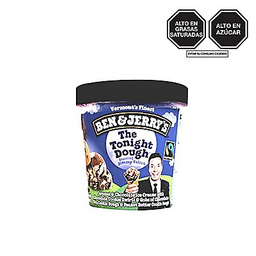 Helado C/Caramelo Y Galleta Ben&Jerry X473Ml