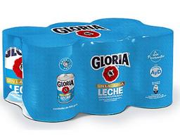 Sixpack Concentrada Sin Lactosa Gloria X400G