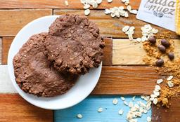 Galletón de Cacao con Ajonjolí