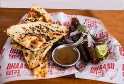 Combo Carne Seekh Kebab (Grill de Carne Molida)