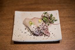 Lenguado Kombu y Sake
