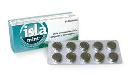 Isla Mint 100 Mg Pastillas Blister X 10