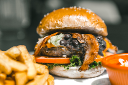 Buffalo Guacamole Burger