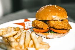 Crispy Buffalo Chicken Sándwich