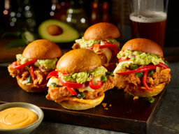 Crispy Chicken Sliders (4 und.)