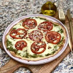 Pizza Pesto & Pecanas