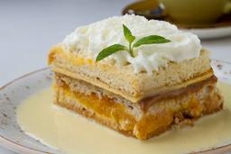 Torta Chorreada De Maná Y Albaricoque