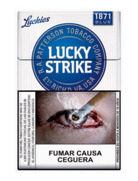 Lucky Strike Light 20 unidades