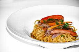 Spaghetti Con Lomo