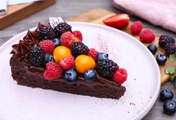 Torta Trufada de Chocolate - Gluten Free -