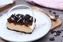 Cheesecake de Lúcuma y Oreo