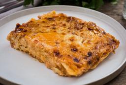 Lasagna de Pollo y Manchego
