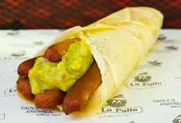Enchilada de Hot Dog