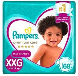 PAMPERS PREMIUMCARE SUPERMEGAPACK XXG 68