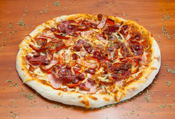 Five Meat Pizza