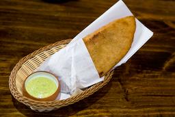 Empanadota de Jamón y Queso Amarillo