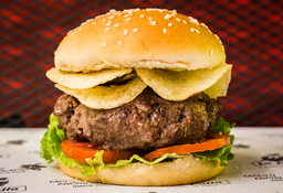 Sándwich de Hamburguesa Casera