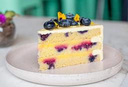 Cake de Limón y Arándanos