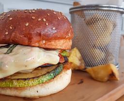 Veggie Ratatouille Burger
