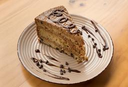 Torta de Chocolate o Torta de Vainilla + Capuccino
