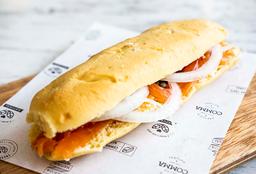 Sándwich Baguetino de Salmón