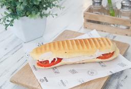 Sándwich Panini de Jamón de Pavo
