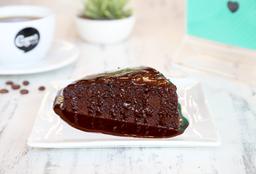 Torta de Chocolate Vegana (porción)