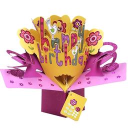 Tarjeta 3D Cumpleaños 2