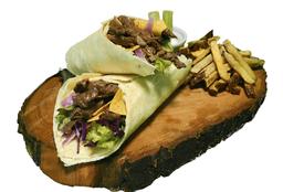 Teriyaki Meat Wrap