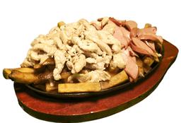 Salchipapa Mix Pollo Ahumado