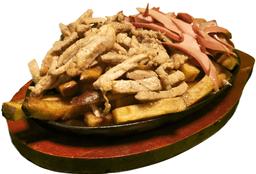 Salchipapa Mix Cerdo Ahumado