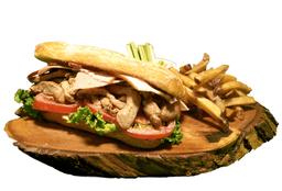 Triple Pork Sándwich