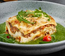 Lasagna al estilo Peruano