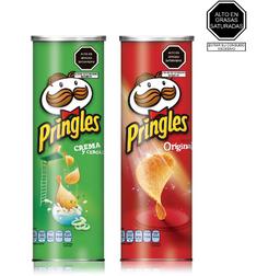 Escoge Tus 2 Pringles Favoritos, Por 124 G.