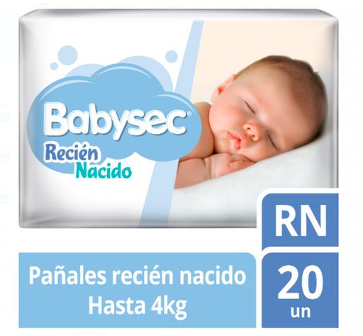 Babysec Pañal Recien Nacido X20Unid