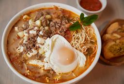 Sopa Criolla Grande + Pan de la casa