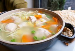 Sopa Dieta de Pollo