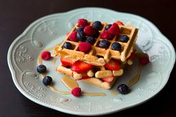 Waffle Frutos del Bosque