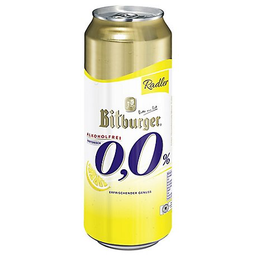 Cerveza Bitburger Radler 0 Alcohol Lt 500 Ml