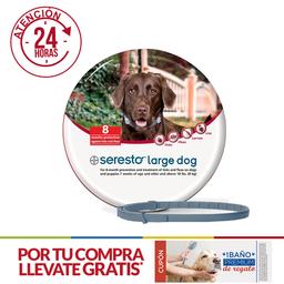 Collar Antipulgas para Perros - SERESTO (más de 8 kg)